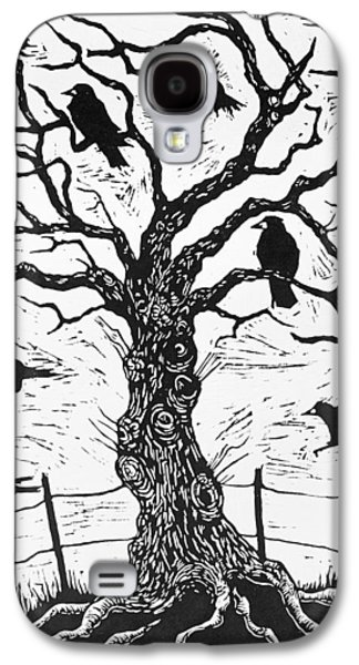 Rook Tree Galaxy S4 Case by Nat Morley