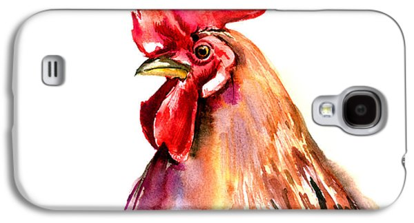 Rooster Portrait Galaxy S4 Case by Suren Nersisyan