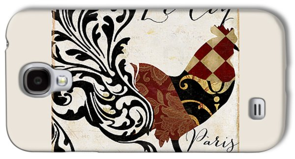Roosters Of Paris II Galaxy S4 Case by Mindy Sommers
