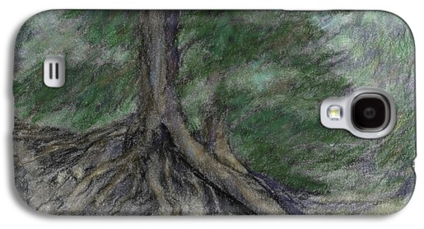 Roots 1 Colorized Galaxy S4 Case by David King