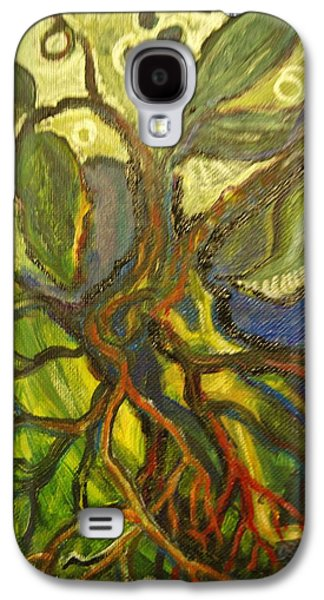Roots And Tendrils Of Living Galaxy S4 Case by Susan Brown    Slizys art signature name