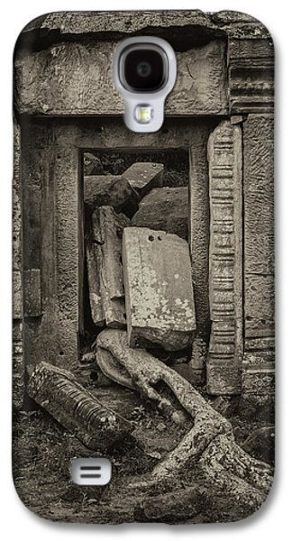 Roots In Ruins 2, Ta Prohm, 2014 Galaxy S4 Case by Hitendra SINKAR
