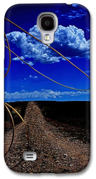 Rope The Road Ahead Galaxy S4 Case by Amanda Smith
