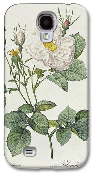 Rosa Alba Foliacea Galaxy S4 Case by Pierre Joseph Redoute