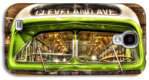 Rosa Parks Bus Dearborn Mi Galaxy S4 Case by Nicholas  Grunas
