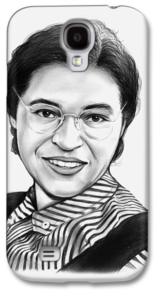 African-american Galaxy S4 Case - Rosa Parks by Greg Joens