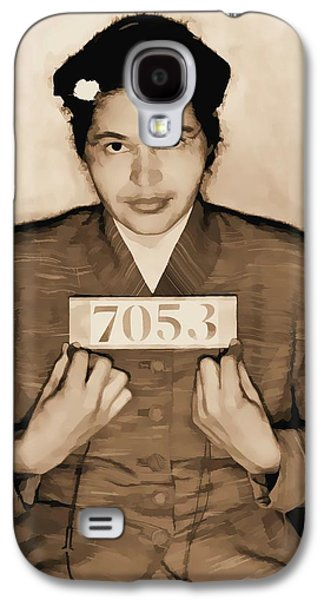Rosa Parks Mugshot Galaxy S4 Case by Dan Sproul