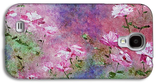 Rose Garden Galaxy S4 Case by Claire Bull
