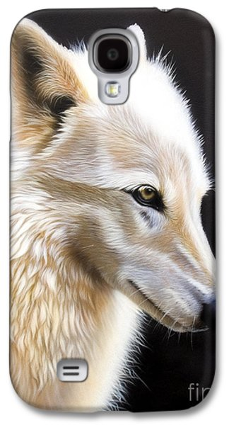 Airbrush Galaxy S4 Cases - Rose III Galaxy S4 Case by Sandi Baker