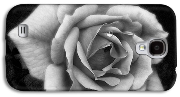 Amazing Galaxy S4 Case - Rose In Mono. #flower #flowers by John Edwards