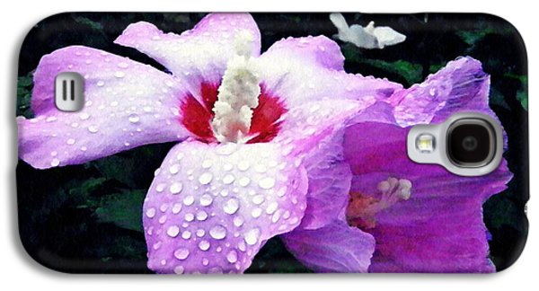 Rose Mallow After The Rain Galaxy S4 Case