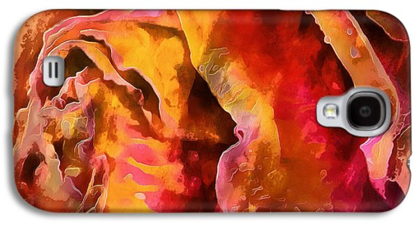 Rose Of Passion Galaxy S4 Case by Krissy Katsimbras