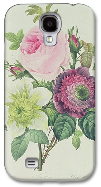 Rose Galaxy S4 Case by Pierre Joseph Redoute