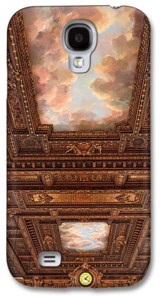 Rose Reading Room Ceiling Galaxy S4 Case by Jessica Jenney