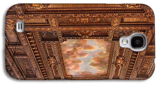 Rose Room Ceiling Galaxy S4 Case by Jessica Jenney
