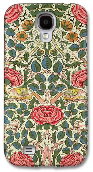 Rose Galaxy S4 Case by William Morris