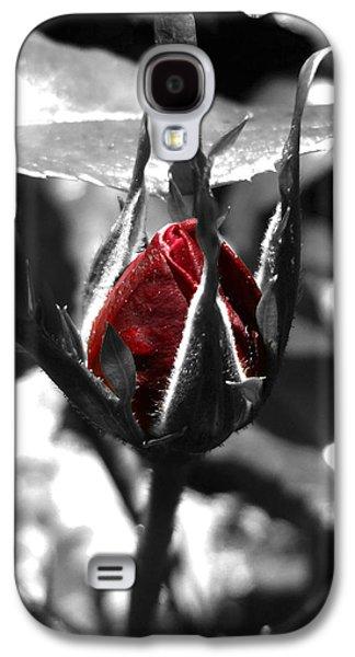 Rosebud Red Galaxy S4 Case