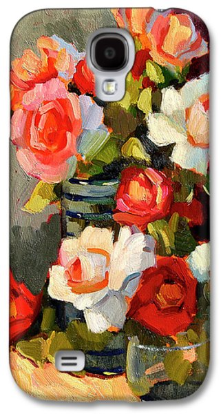 Roses From My Garden Galaxy S4 Case by Diane McClary