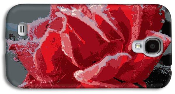 Roses In Winter Galaxy S4 Case by Dianne Cowen