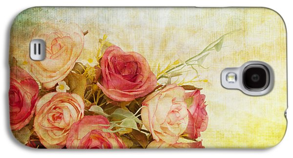 Roses Pattern Retro Design Galaxy S4 Case