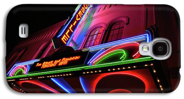 Roseville Theater Neon Sign Galaxy S4 Case
