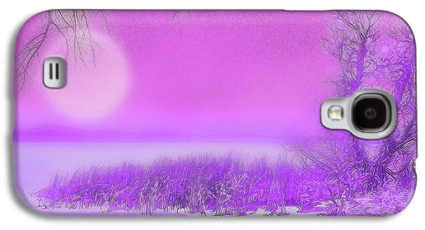Rosy Hued Moonlit Lake - Boulder County Colorado Galaxy S4 Case