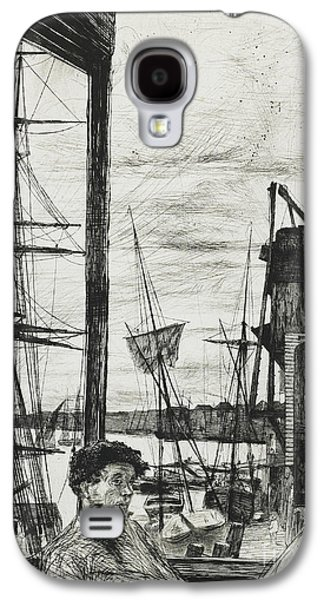 Rotherhithe Galaxy S4 Case by James Abbott McNeill Whistler