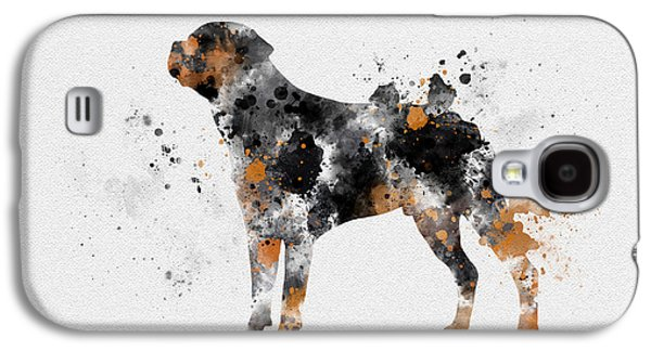 Rottweiler Galaxy S4 Case by Rebecca Jenkins