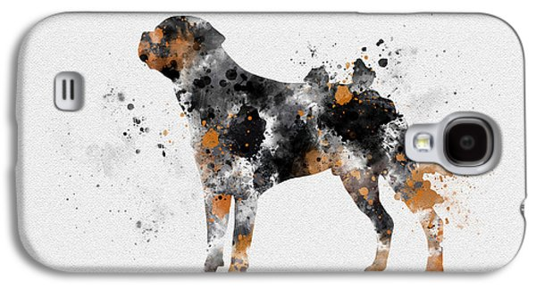 Rottweiler Galaxy S4 Case by Rebecca Jenkins