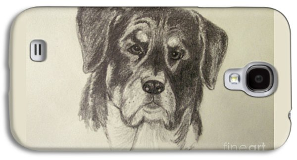 Rottweiler Galaxy S4 Case by Suzette Kallen