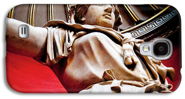 Rotunda Colossals 2 Of 3 Vatican Museum Ancient Statues Rome Italy Galaxy S4 Case by Andy Smy