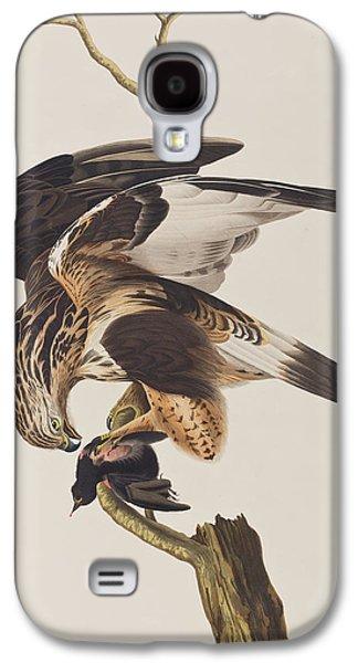 Rough Legged Falcon Galaxy S4 Case by John James Audubon