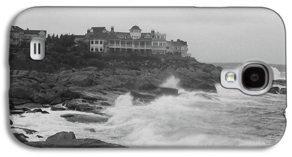 Rough Water At Nubble York Me Galaxy S4 Case by Imagery-at- Work