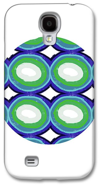 Round And Round Ball- Art By Linda Woods Galaxy S4 Case
