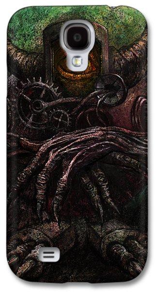 Round Robot Galaxy S4 Case by Frank Robert Dixon
