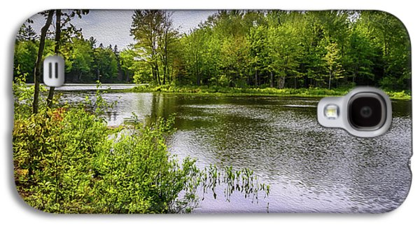 Galaxy S4 Case featuring the photograph Round The Bend In Oil 36 by Mark Myhaver