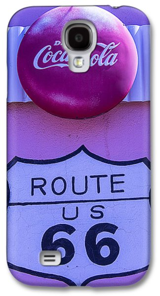 Route 66 Coca Cola Sign Galaxy S4 Case by Garry Gay