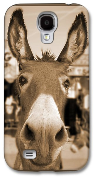 Route 66 - Oatman Donkeys Galaxy S4 Case by Mike McGlothlen