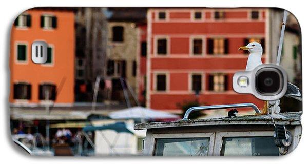 Rovinj Harbor Seagull - Rovinj, Istria, Croatia Galaxy S4 Case
