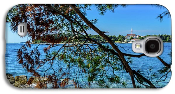 Rovinj Old Town Accross The Adriatic Through The Trees Galaxy S4 Case
