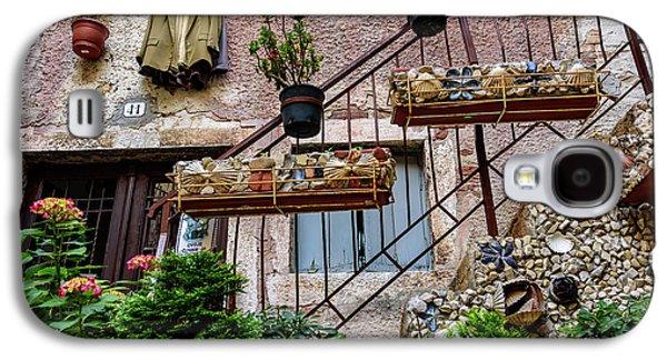 Rovinj Old Town Courtyard, Rovinj Croatia Galaxy S4 Case