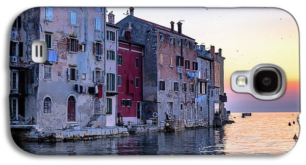 Rovinj Old Town On The Adriatic At Sunset Galaxy S4 Case