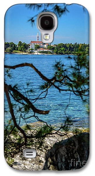 Rovinj Seaside Through The Adriatic Trees, Istria, Croatia Galaxy S4 Case