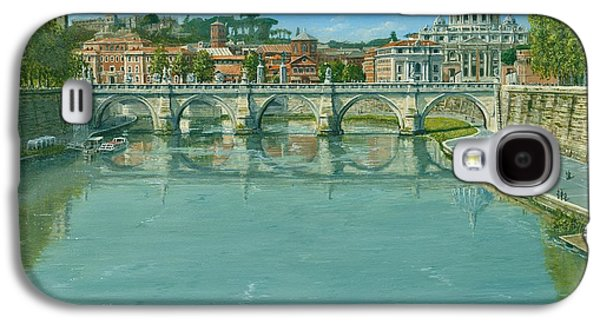 Rowing On The Tiber Rome Galaxy S4 Case by Richard Harpum