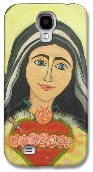 Royal And Immaculate Heart Of Mary Galaxy S4 Case