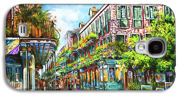 Town Galaxy S4 Case - Royal At Pere Antoine Alley, New Orleans French Quarter by Dianne Parks
