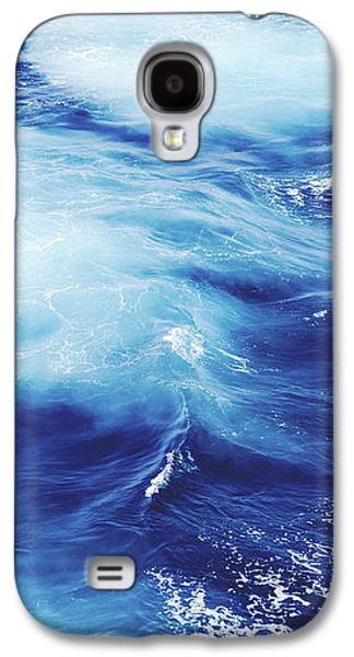 Royal Blue Galaxy S4 Case by Clem Onojeghuo
