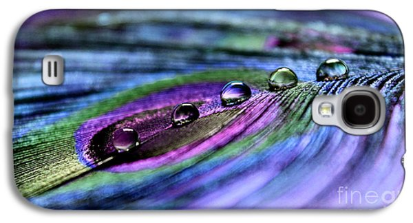 Peacock Galaxy S4 Case - Soul Reflections by Krissy Katsimbras