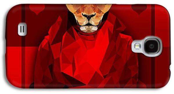 Royal Lioness Galaxy S4 Case by Gallini Design