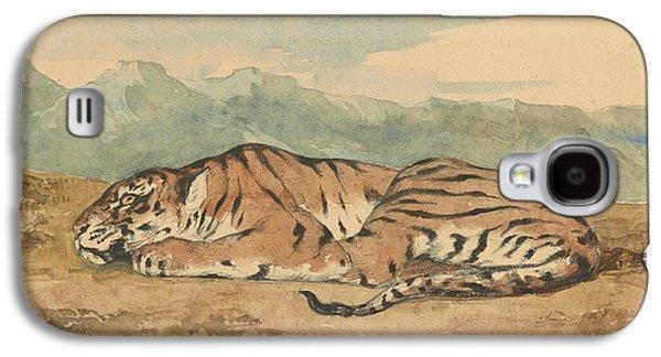 Royal Tiger Galaxy S4 Case